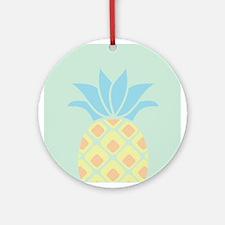 Pineapple Round Ornament