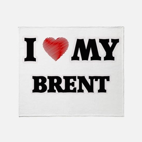 I love my Brent Throw Blanket
