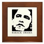 Barack Obama Framed Tile