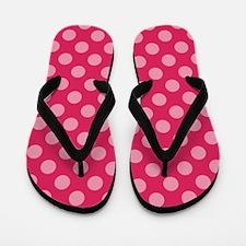 Funny Polka dot Flip Flops