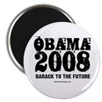 Obama 2008: Barack to the future Magnet