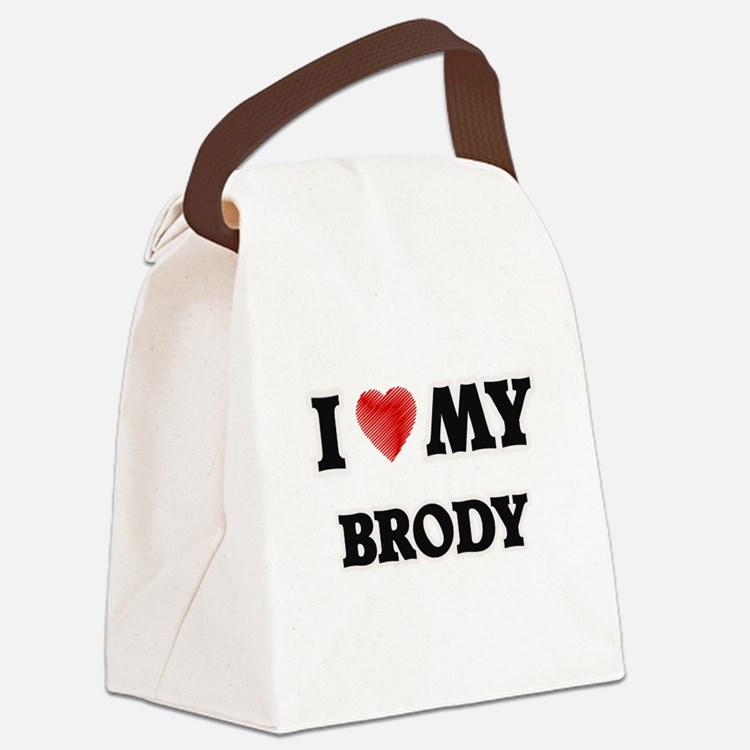 I love my Brody Canvas Lunch Bag
