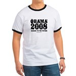 Obama 2008: Barack to the future Ringer T