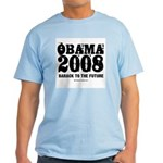 Obama 2008: Barack to the future Light T-Shirt