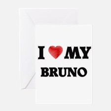 I love my Bruno Greeting Cards