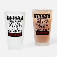 #NOTRUMP Drinking Glass