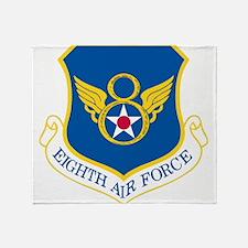Eighth Air Force Throw Blanket