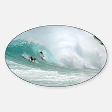 Surfing Sandy Beach Hawaii Decal