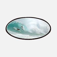 Surfing Sandy Beach Hawaii Patch