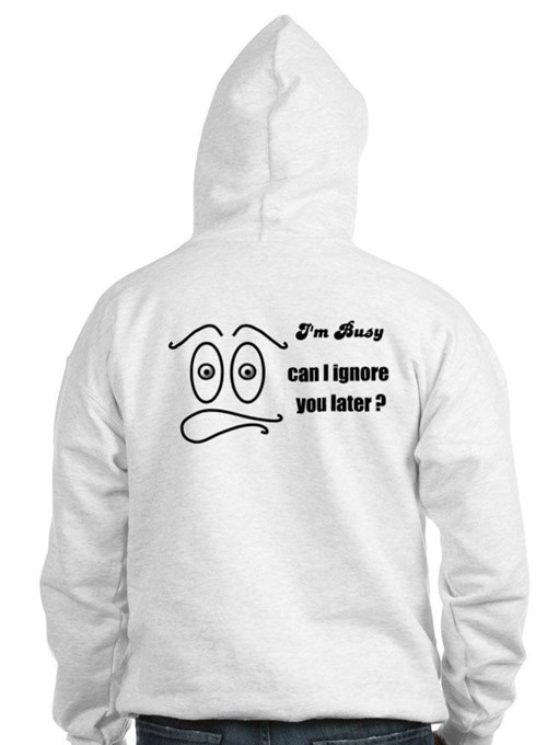 I DON'T CARE FACE Hoodie