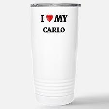 I love my Carlo Stainless Steel Travel Mug