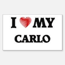 I love my Carlo Decal