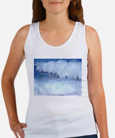 Waimea Bay Surfers Hawaii Women's Tank Top