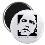 Obama 2008: Peace and Hope Magnet