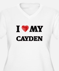 I love my Cayden Plus Size T-Shirt