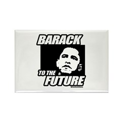 Barack to the future Rectangle Magnet (100 pack)