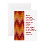 Anniversary Of Ordination Card Greeting Cards