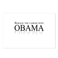 Barack the casbah with Obama Postcards (Package of
