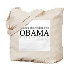 Barack the casbah with Obama Tote Bag
