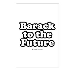 Barack to the future Postcards (Package of 8)
