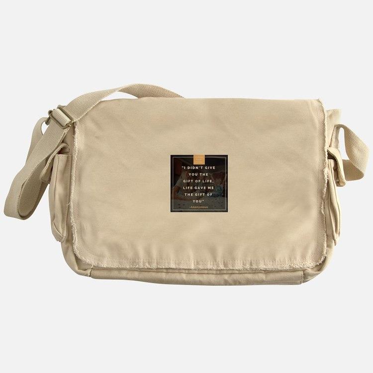 Cute Foster care Messenger Bag