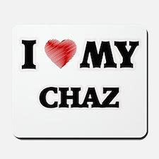 I love my Chaz Mousepad