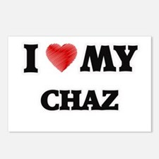 I love my Chaz Postcards (Package of 8)