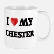 I love my Chester Mugs