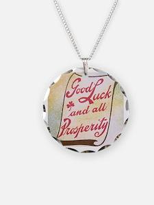 Cute Irish art Necklace