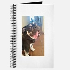 Happy! Chuck the Old English Bulldog Journal