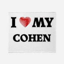 I love my Cohen Throw Blanket
