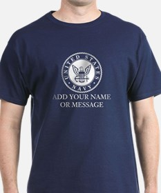 PERSONALIZED US Navy T-Shirt