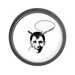 Obama (write in message) Wall Clock
