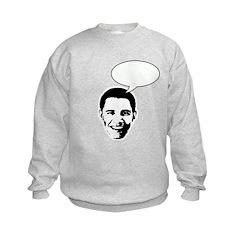Obama (write in message) Sweatshirt