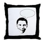 Obama (write in message) Throw Pillow