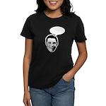 Obama (write in message) Women's Dark T-Shirt