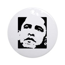 Barack Obama Ornament (Round)