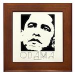 Barack Obama Framed Tile