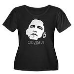 Barack Obama Women's Plus Size Scoop Neck Dark T-S