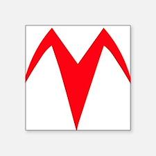 "Racer X Chest Emblem ACCURA Square Sticker 3"" x 3"""