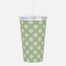 Cute Sage Acrylic Double-wall Tumbler