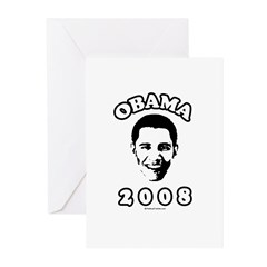 Barack Obama Greeting Cards (Pk of 20)