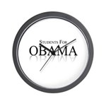 Students for Obama Wall Clock