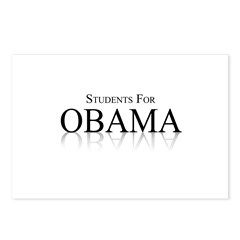 Students for Obama Postcards (Package of 8)