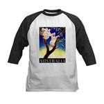 Australia Travel and Tourism Print Baseball Jersey
