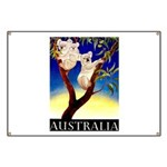 Australia Travel and Tourism Print Banner