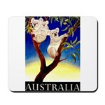 Australia Travel and Tourism Print Mousepad