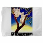 Australia Travel and Tourism Print Pillow Sham
