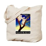 Australia Travel and Tourism Print Tote Bag