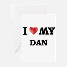 I love my Dan Greeting Cards